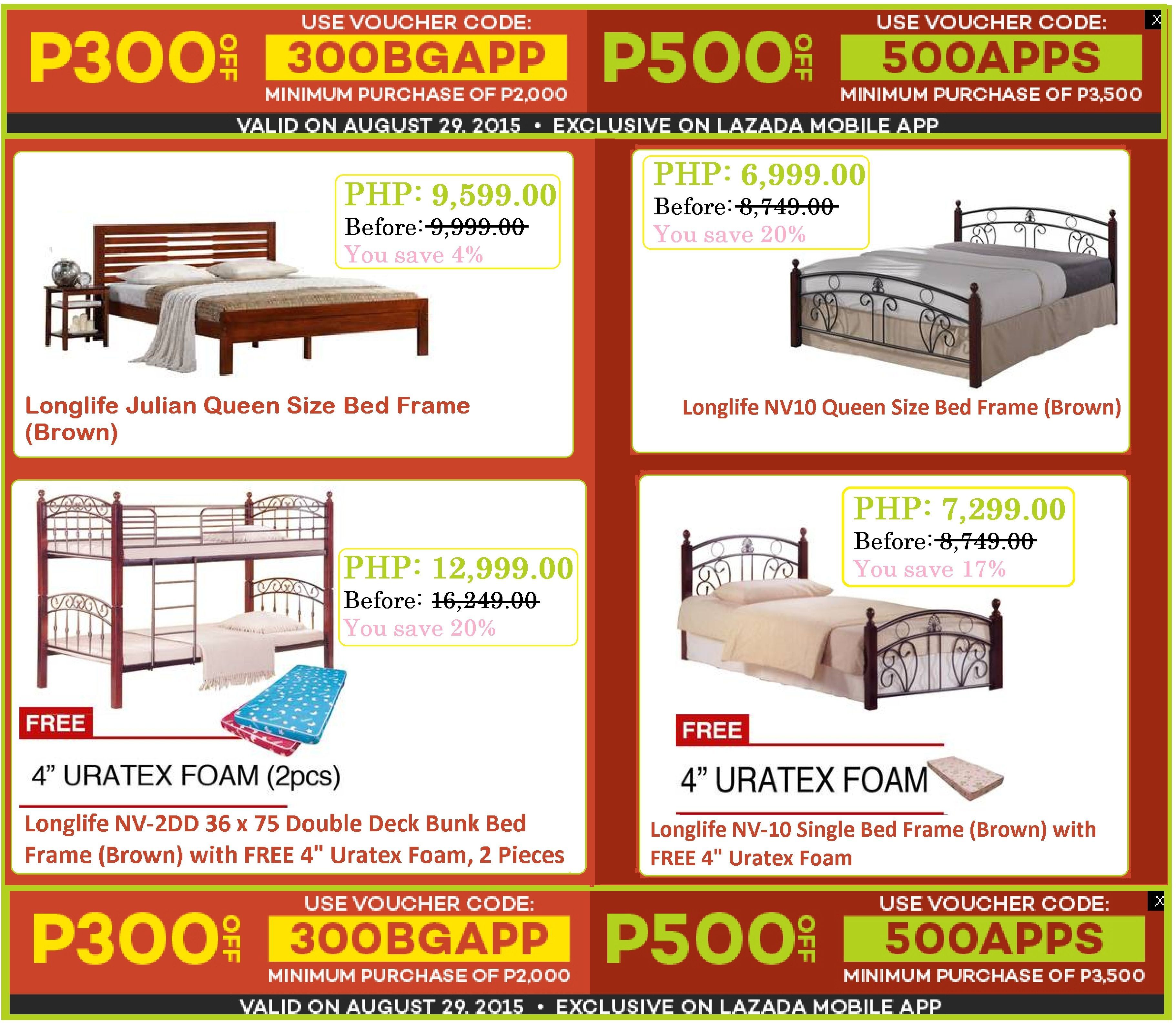 Home Furniture Sale Lazada S Big App Promo Save P300 Up To P500