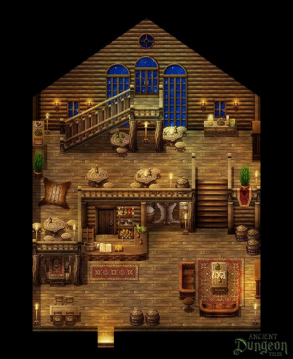 Cozy Inn By PinkFireFly On DeviantArt