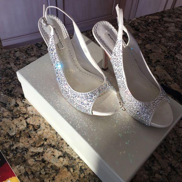 85591a01706b Benjamin Adams bridal wedding shoes 7.5 One wedding. Worn once. 7.5 Benjamin  adams Shoes Heels