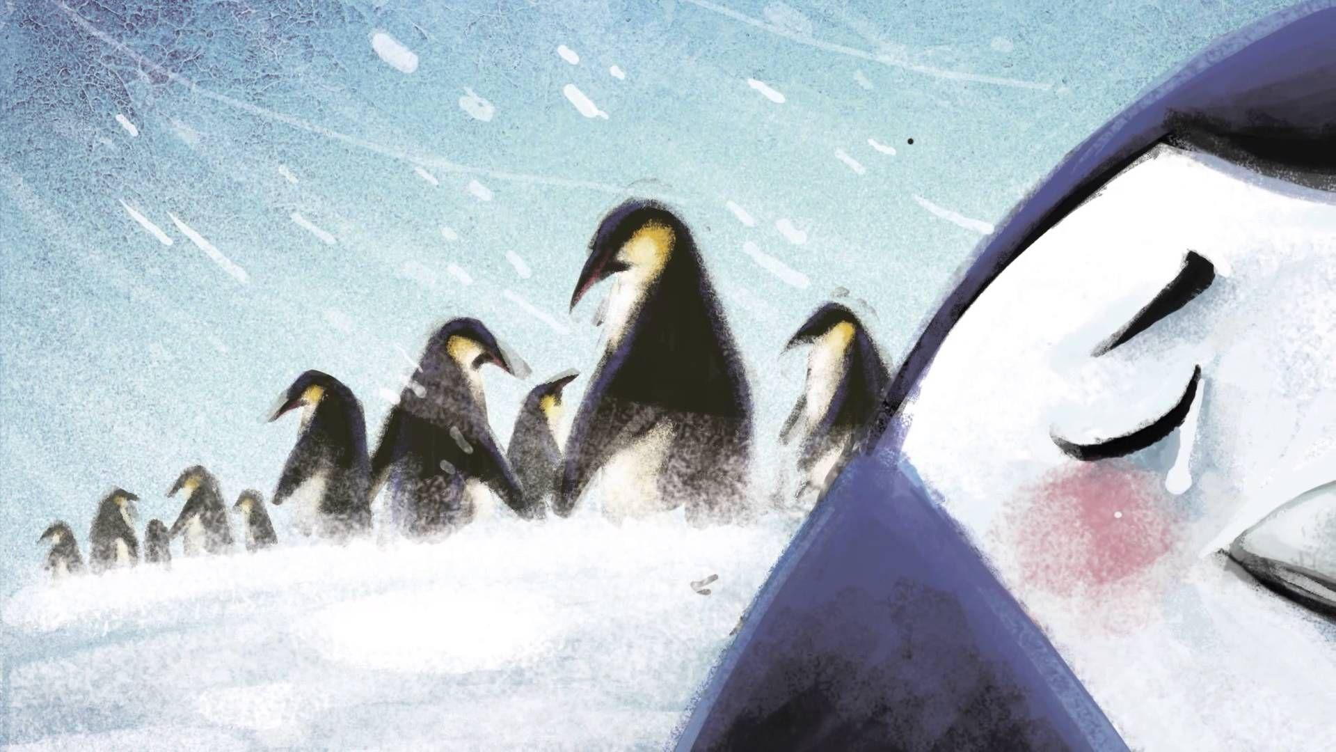 Famoso Página De Color Pingüino Festooning - Ideas Para Colorear ...