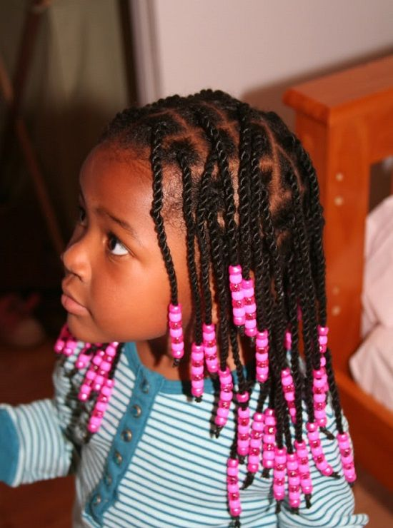 Little Girl Braid Hairstyles With Beads Women Hairstyles Ideas