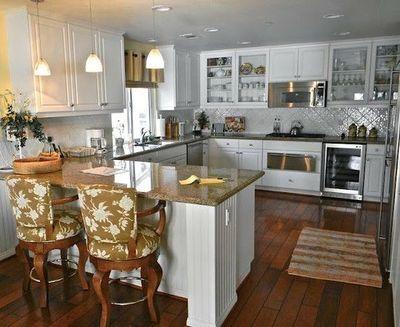 Kitchen Layout G Shape With Range Wall And Peninsula Kitchen