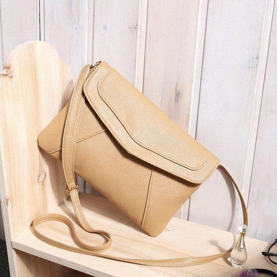 Fashion Vintage Small Envelope Bags Women s Leather Messenger Bag Handbags  Shoulder Cross body Bag Clutch satchels 675cc2710b6ad