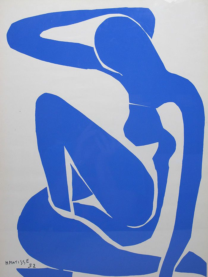 Matisse blue nude iv