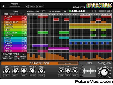 Effectrix / perfect tool for sequenced sound manipulations