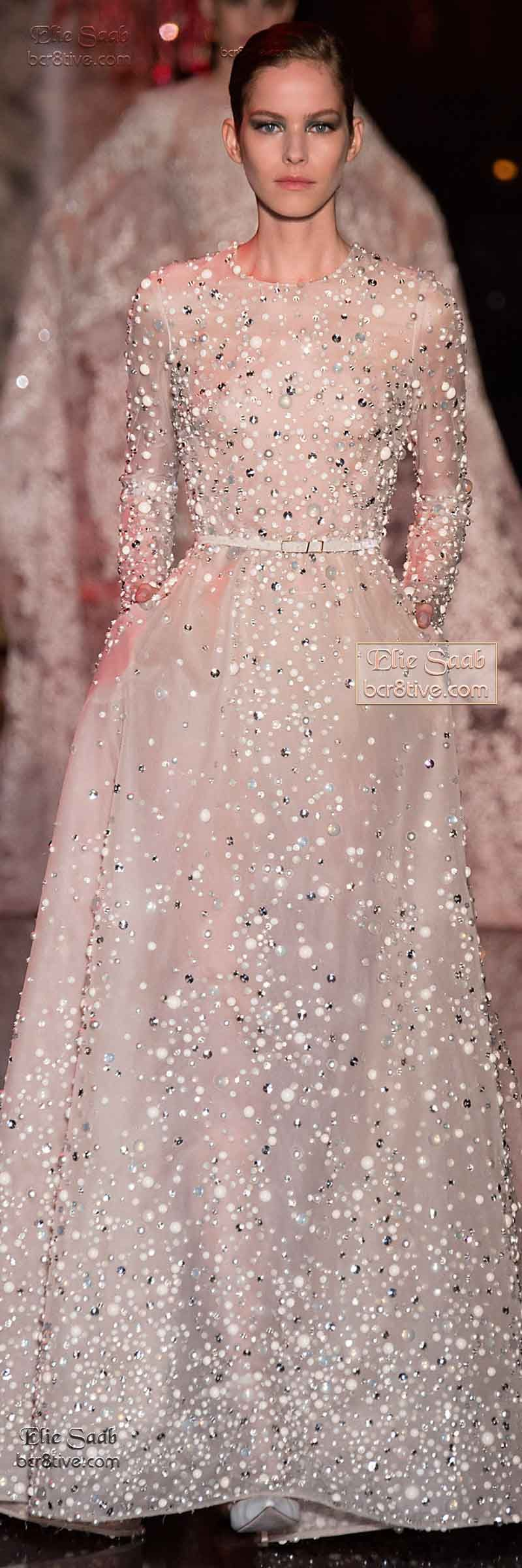 Elie Saab Fall Winter 2014-15 Couture | Alta costura, Vestiditos y ...