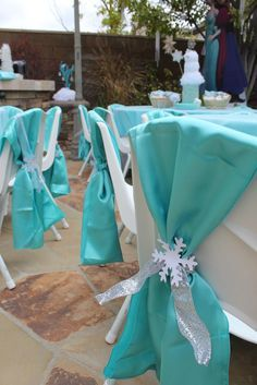 Talias gefrorenes Winterwunderland | CatchMyParty.com   – Nani's quinceanra