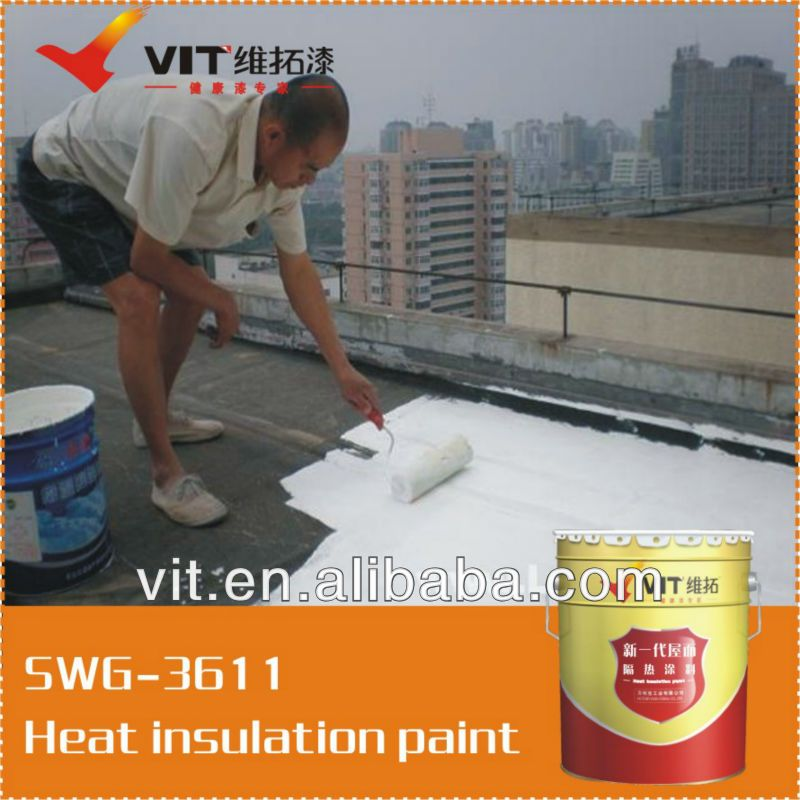Vit Luxury High Preference Heat Resistant Paint 1 Good Weatherability 2 Excellent Adhesion 3 Can Drop Over 10 Celsi Heat Insulation White Heat Paint Stain