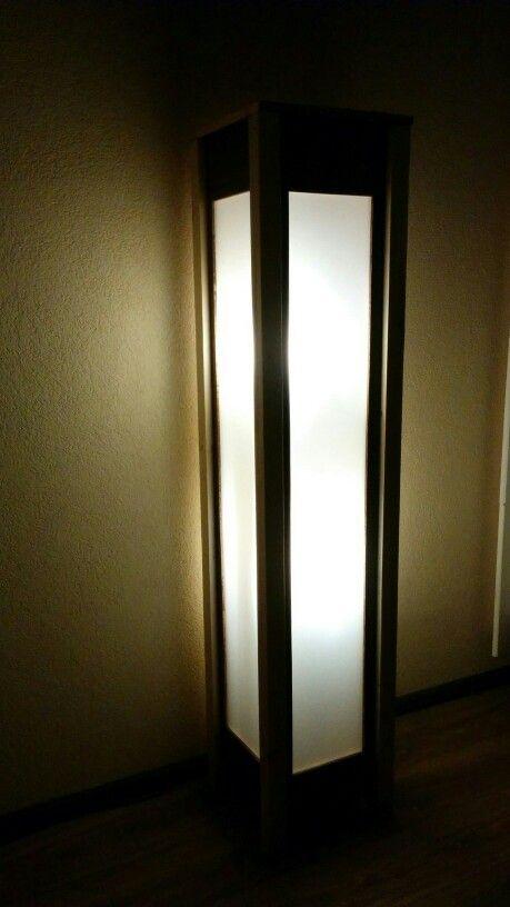 Luxe staande lamp   Woonkamer lampen   Pinterest - Luxe, Sloophout ...