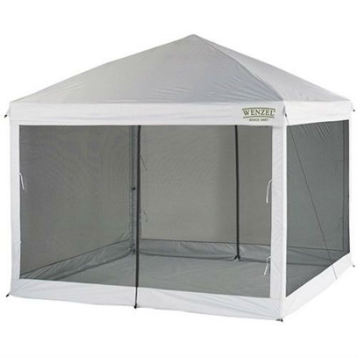 Screen House Shelter Canopy Tent Shade Bug Free Outdoor C&ing White New  sc 1 st  Pinterest & Screen House Shelter Canopy Tent Shade Bug Free Outdoor Camping ...
