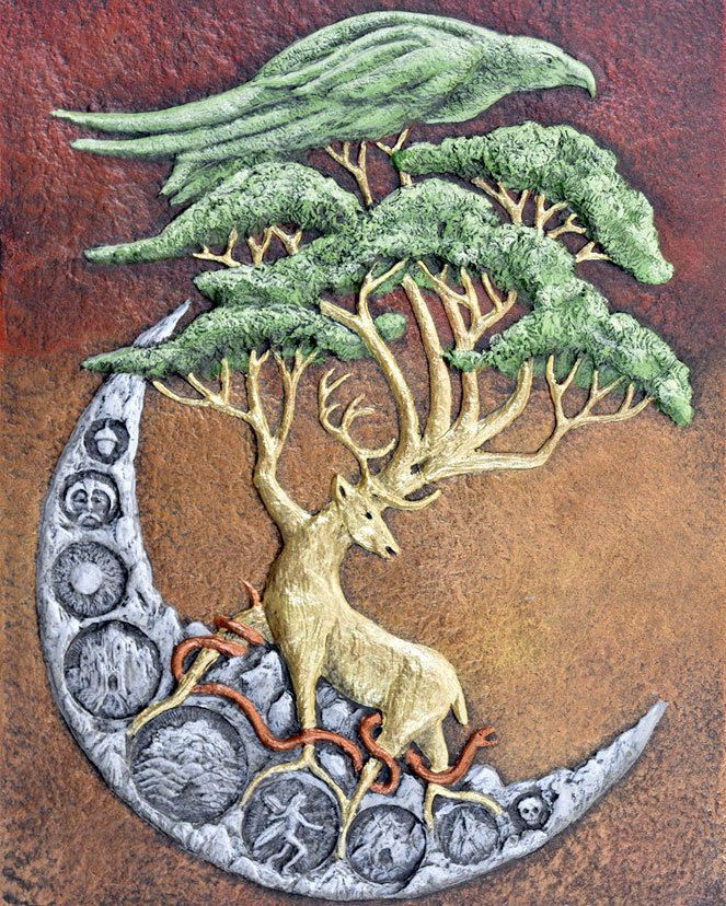Yggdrasil Frame Dimensions Are 16 X 20 The Tree Of Life In Norse