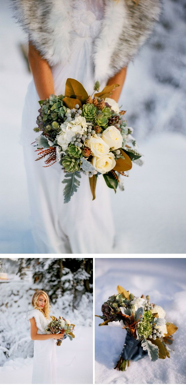 Winterhochzeit Inspirationen Von Blue Rose Photography 3 Snow