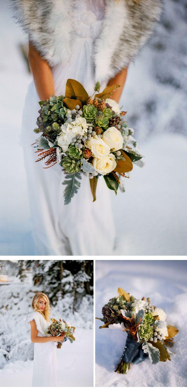 MAGICAL WINTERINSPIRATIONS  Hochzeitsblmen  Brautstrau