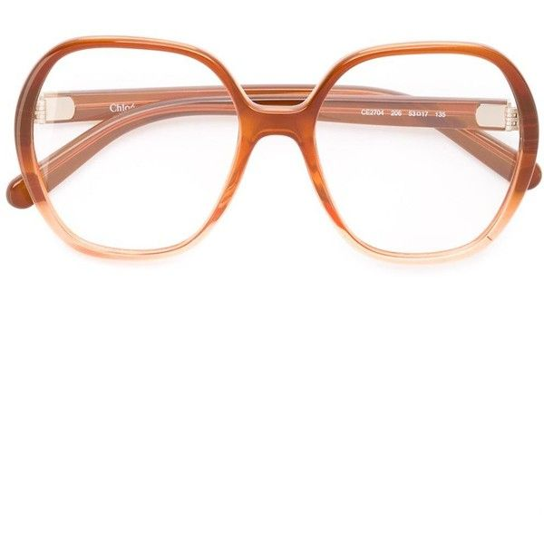 16305b9d74ab4 Chloé Misha glasses ( 290) ❤ liked on Polyvore featuring accessories