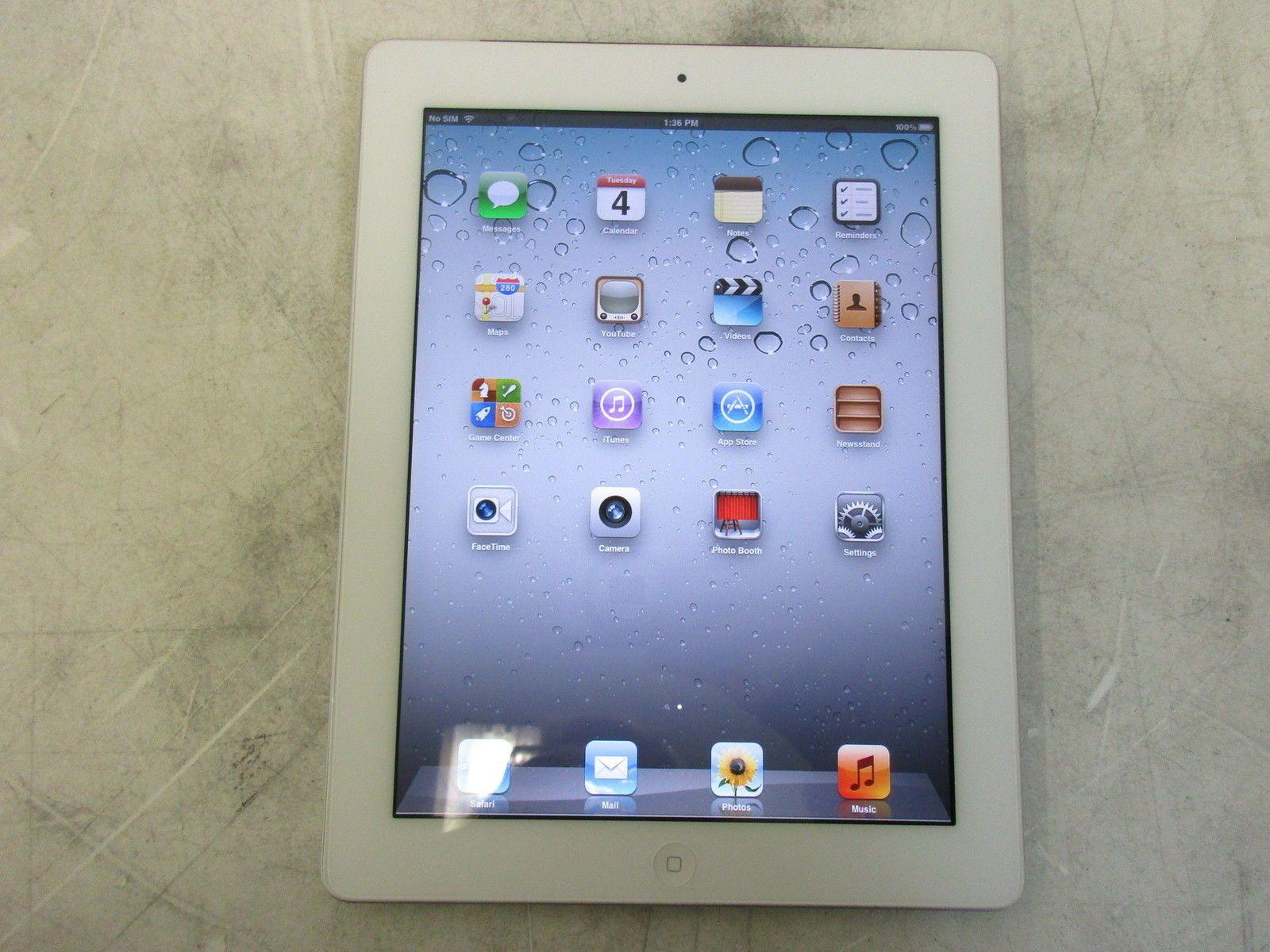 Apple iPad 2nd Gen WiFi  Unknown Carrier 64GB MC984FD White https://t.co/b6CtSWIcrm https://t.co/akPSSiWL5I