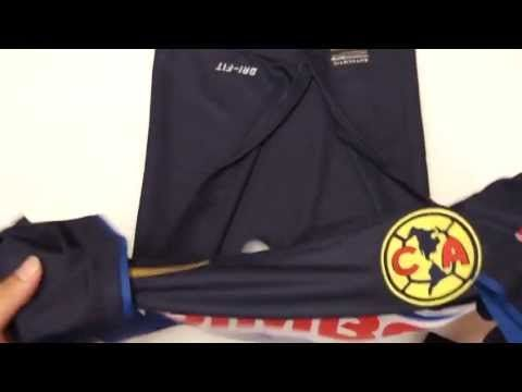 893bfabdb29 Nike Club America 2013/2014 Away Jersey Model: 544845 452 Color: Blue