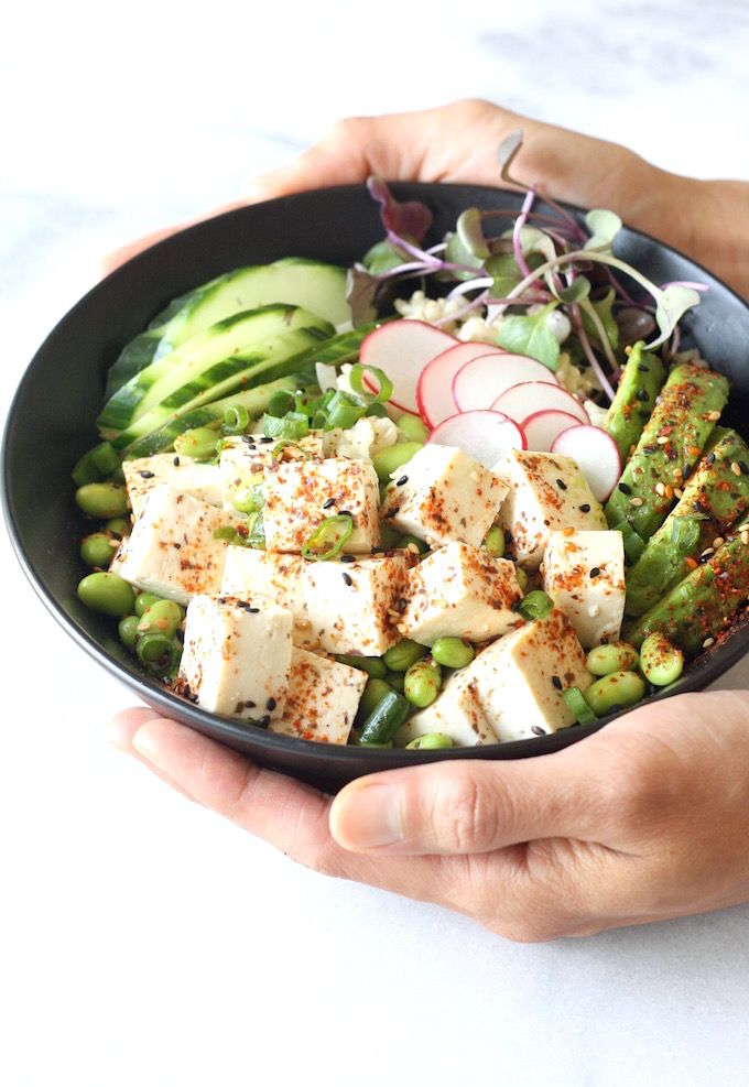 Vegetarian poke bowl by seasonwithspice asap recipes recipes forumfinder Images