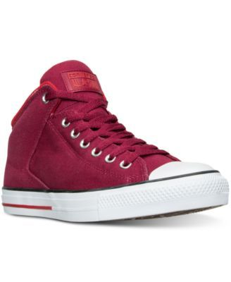 more photos af62f 6067d CONVERSE Converse Men s Chuck Taylor All Star Hi Street Shield CVS Casual  Sneakers from Finish Line.  converse  shoes   all men