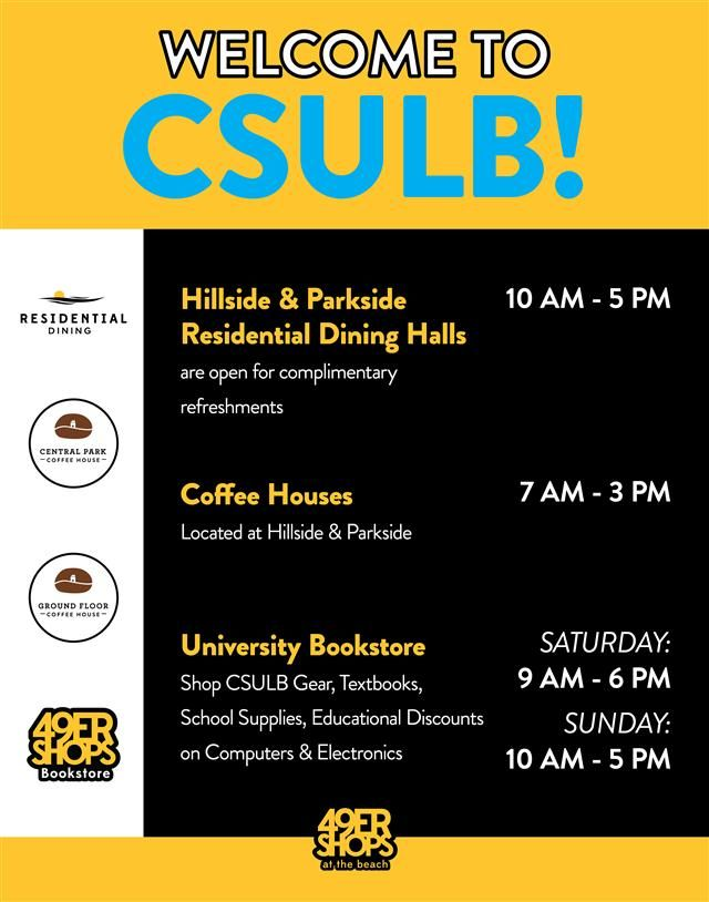 Welcome To Csulb Csulb School Supplies Survival Tips Coffee House