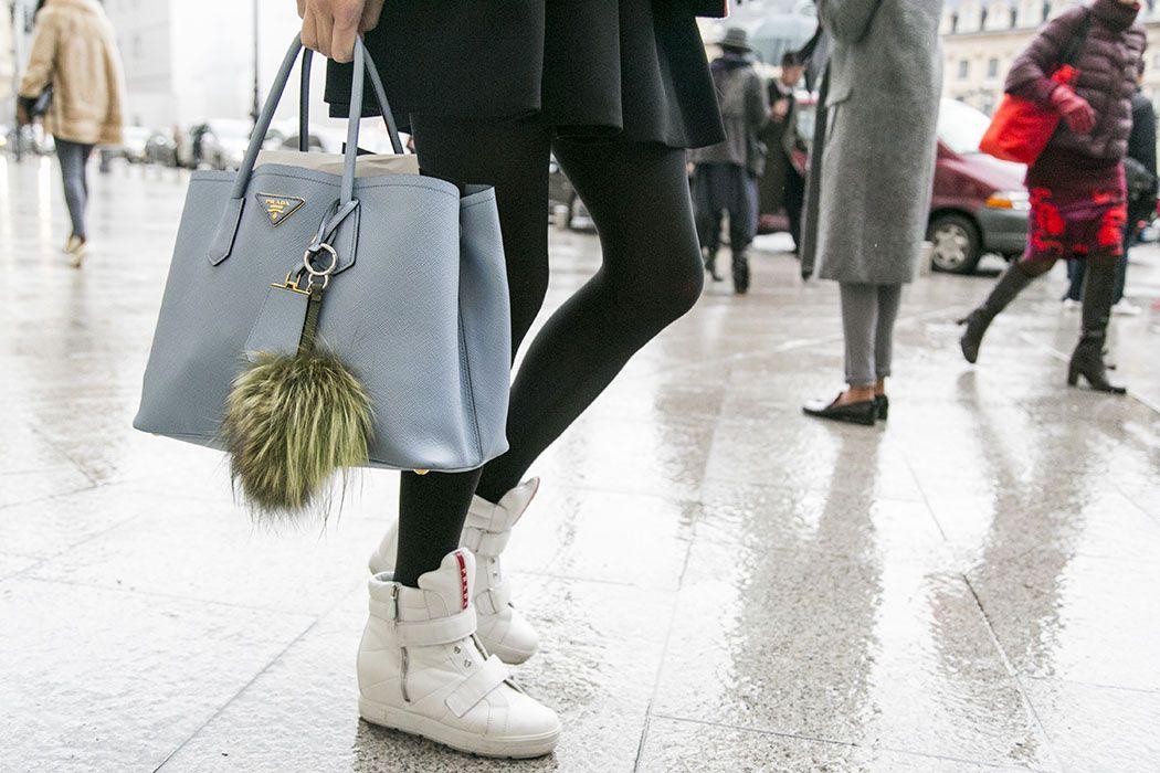 Sneakers y bolso deluxe