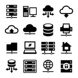 Stock Image Technology Data Icon Icon Set Computer Icon