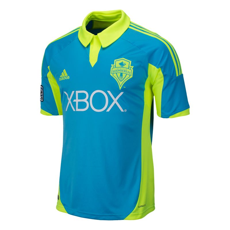 promo code 430af 8f385 seattle sounders 14 chad marshall home mens adults 2016 2017 ...