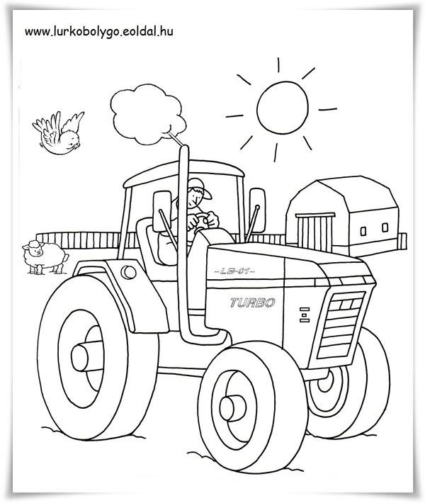 Ausmalbilder Kleiner Roter Traktor Ausmalbilder Kleiner Roter Traktor Coloring Books Coloring Pictures Pencil Drawings