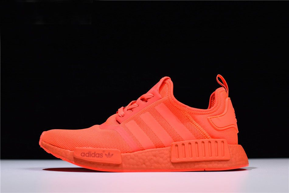 d72559f64 Mens and Womens adidas NMD R1 Triple Solar Red S31507
