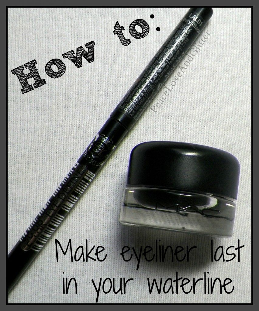 How to - Make Eyeliner Last in Your Waterline
