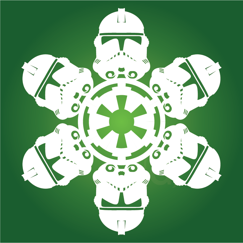 DIY Star Wars Snowflakes - With winter upon us, we thought it would ...
