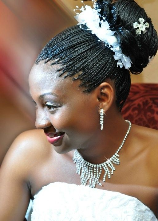 A Boxbraids Updo Is A Great Naturalhairstyle For A