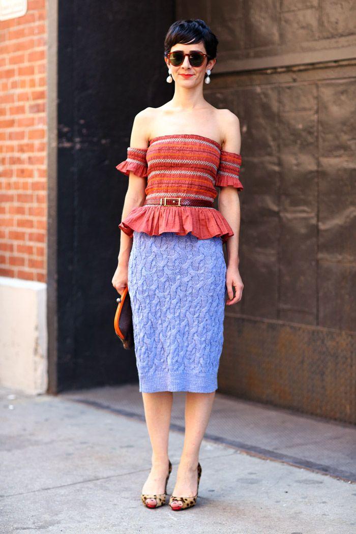 #fashion-ivabellini Violaine Bernard, Knits | Street Fashion | Street Peeper | Global Street Fashion and Street Style