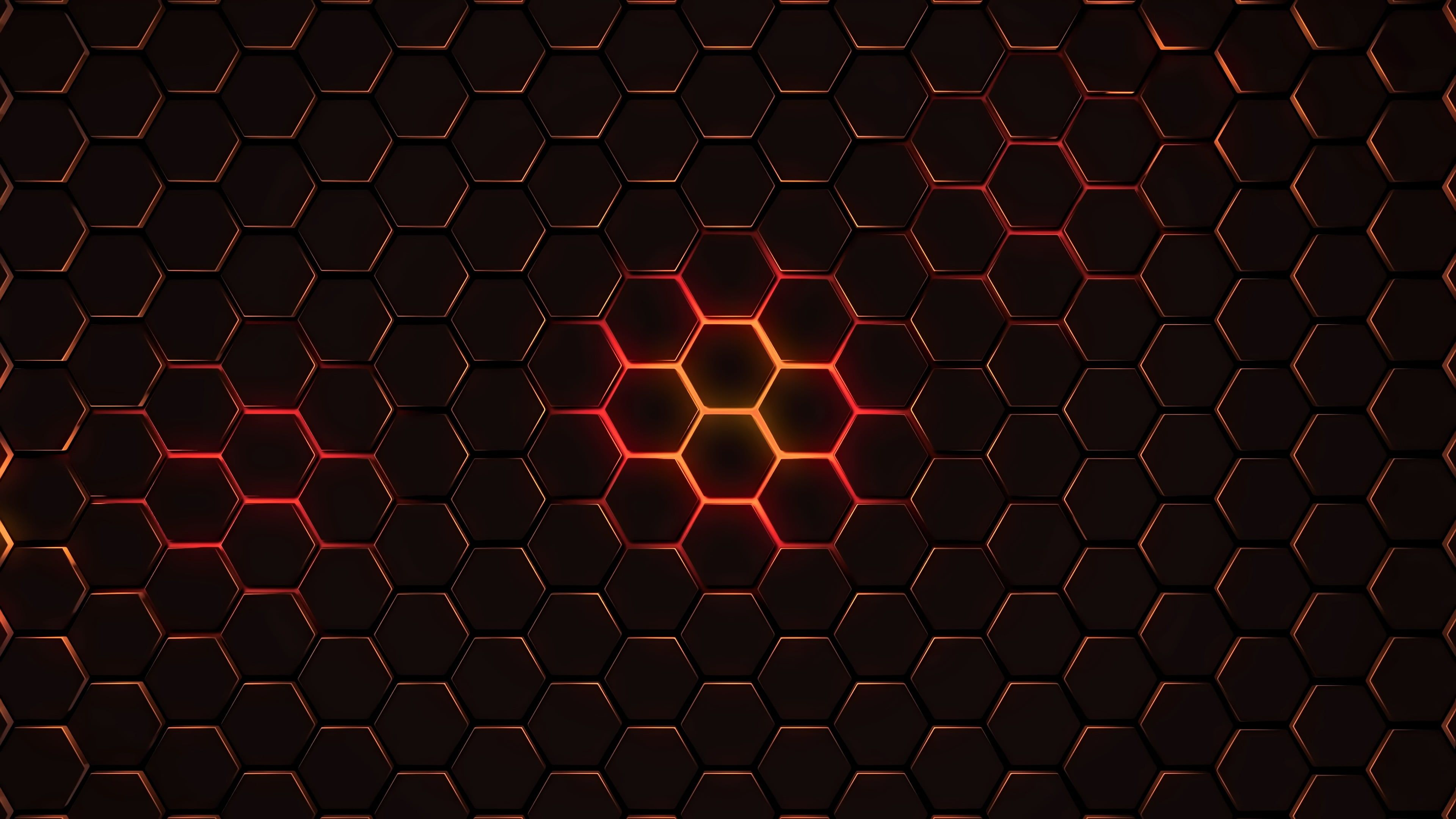 Grey And Black Illustration Abstract Geometry Hexagon 4k Wallpaper Hdwallpaper Desktop Hexagon Wallpaper Abstract Wallpaper Bokeh Wallpaper Geometric desktop wallpaper 4k