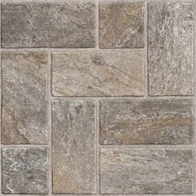 Style Selections 12in x 12in Quartz Natural Slate Pattern