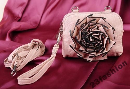 Mala Torebka Kwiat 3d Eko Skora Na Ramie Roz I Bez 5275379951 Oficjalne Archiwum Allegro Pink Bag Women Accessories Fashion Accessories