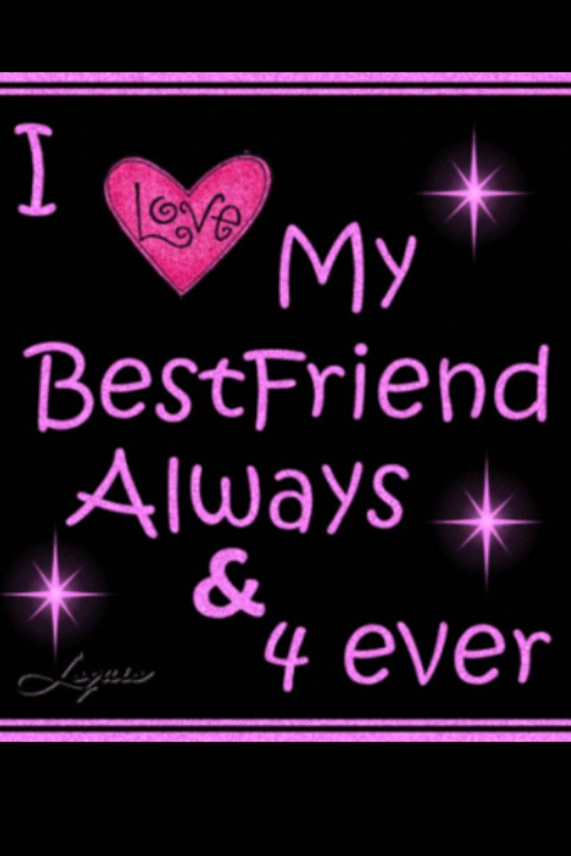 Love All My Friends Hope We Will Stay Together Forever