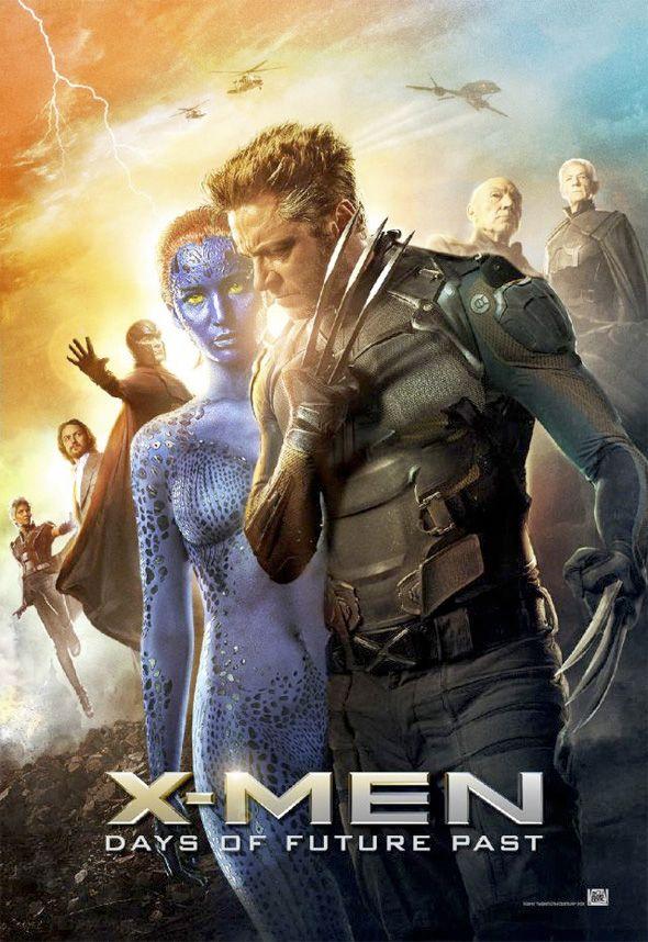 X Men Days Of Future Past Raven Mystique Erik Lehnsherr Magneto Bolivar Trask Pietro Maximoff Quicksilver Logan Days Of Future Past X Men New Poster