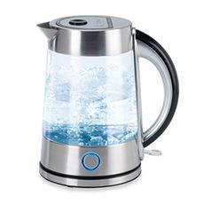 Nesco 1 8 Quart Glass Electric Water Kettle Bed Bath Beyond