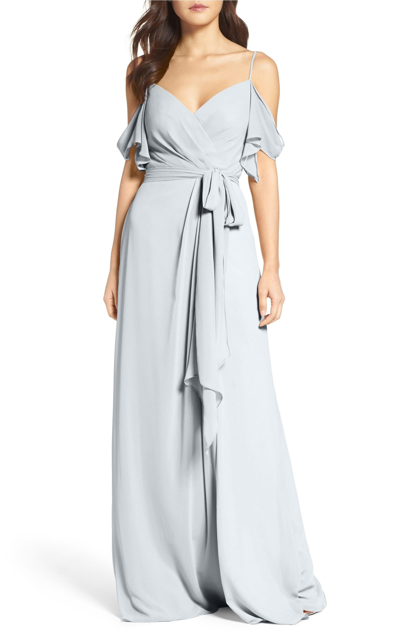 Aldridge aline chiffon gown chiffon gown gowns and wedding