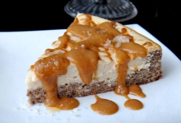 Flush Fitness Delicious Salted Caramel Protein Cheesecake