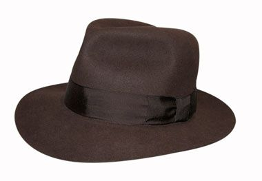 A lovely open crown fedora. Made of a finer grade of rabbit fur than the  adventurer. 1174716ace5