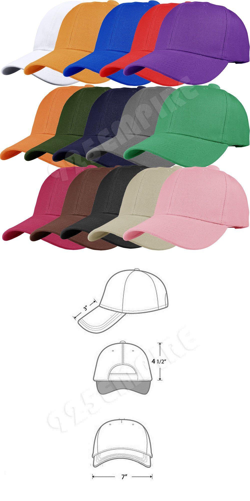 Hats 52365  12 Pcs Wholesale Lot Plain Solid Color Adjustable Baseball Cap  Hats -  BUY IT NOW ONLY   24 on  eBay  wholesale  plain  solid  color   adjustable ... 878ed66255eb