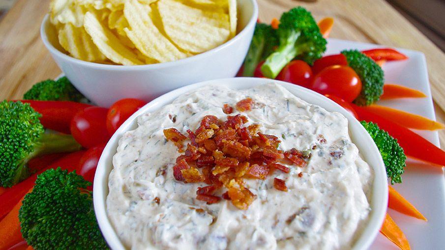 A tasty recipe from Walmart.ca Bacon Ranch Greek Yogurt