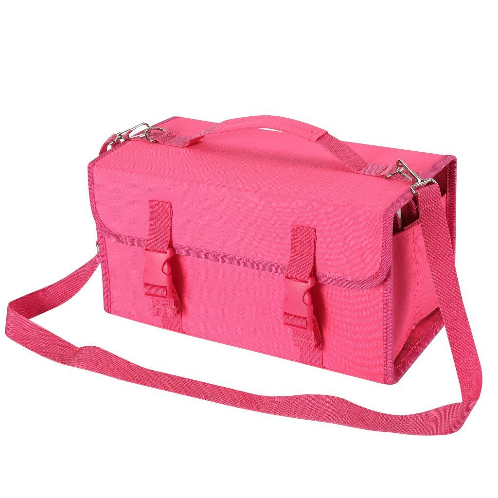 New 120 Slots Marker Case Lipstick Organizer--Canvas Markers Holder For Copic