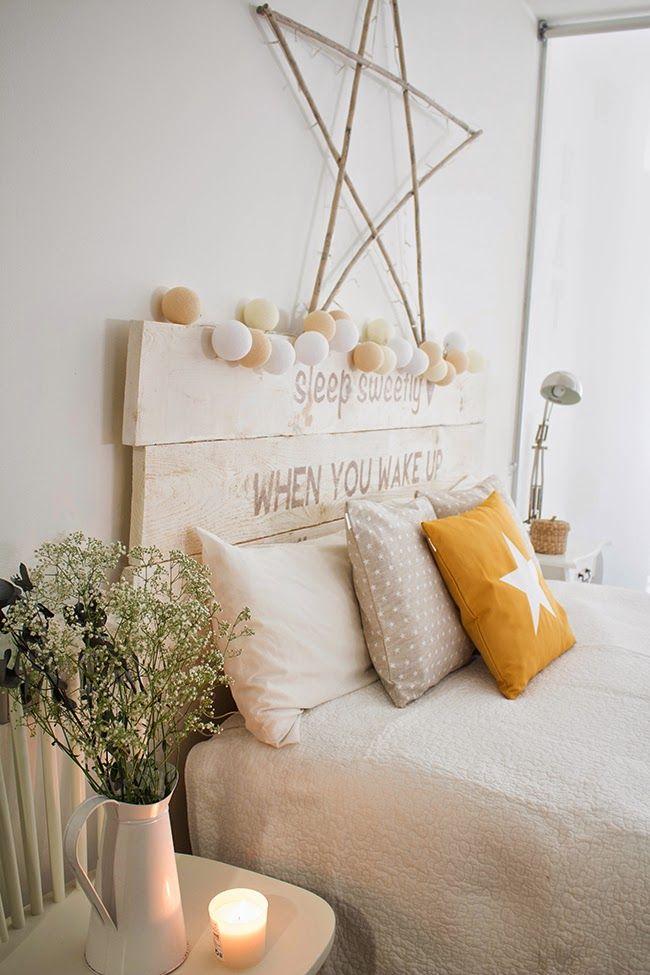 Cambio total de mi dormitorio con una funda de coj n for Deco dormitorio matrimonial