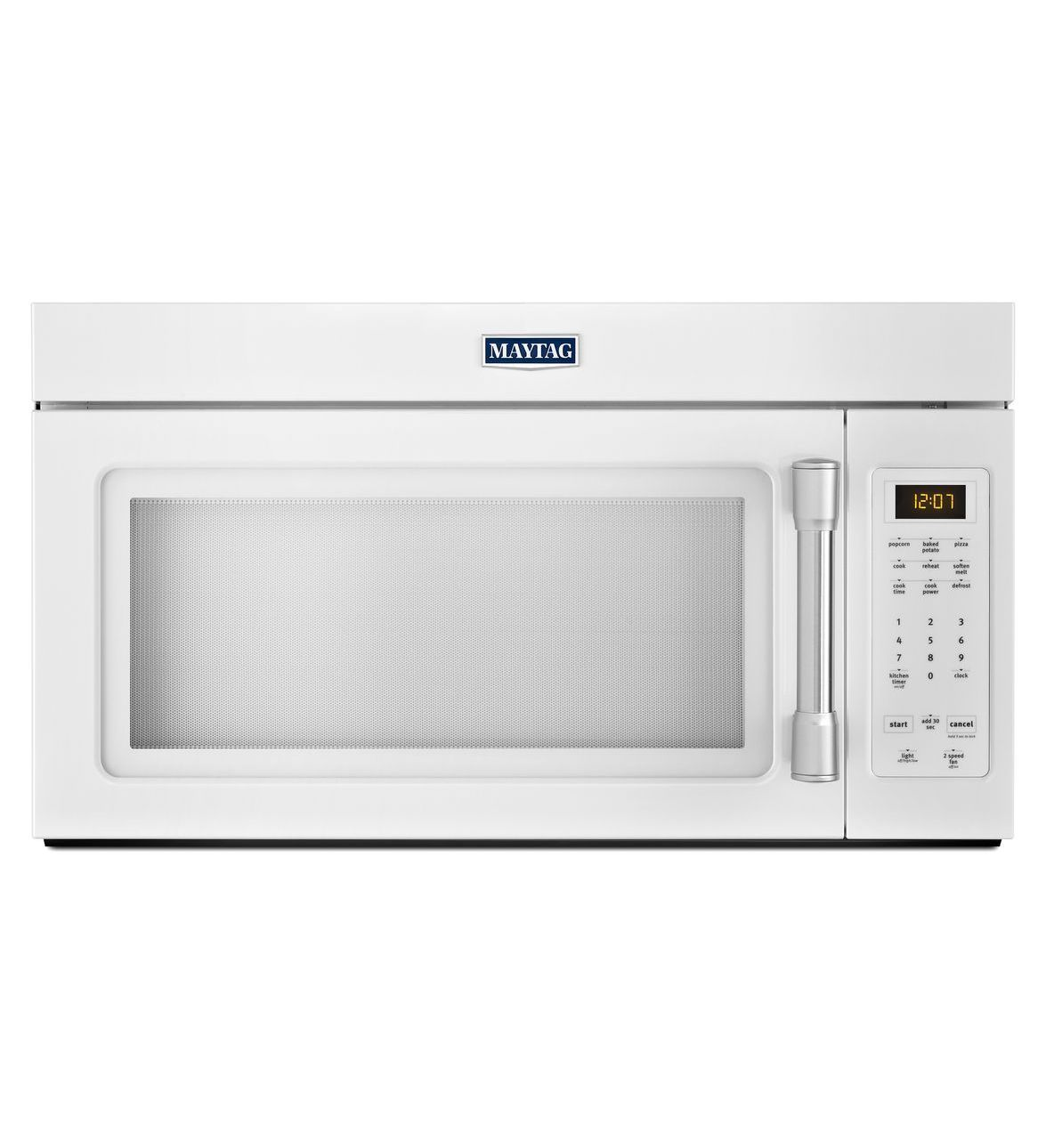 Compact Over The Range Microwave With Stainless Steel Handle