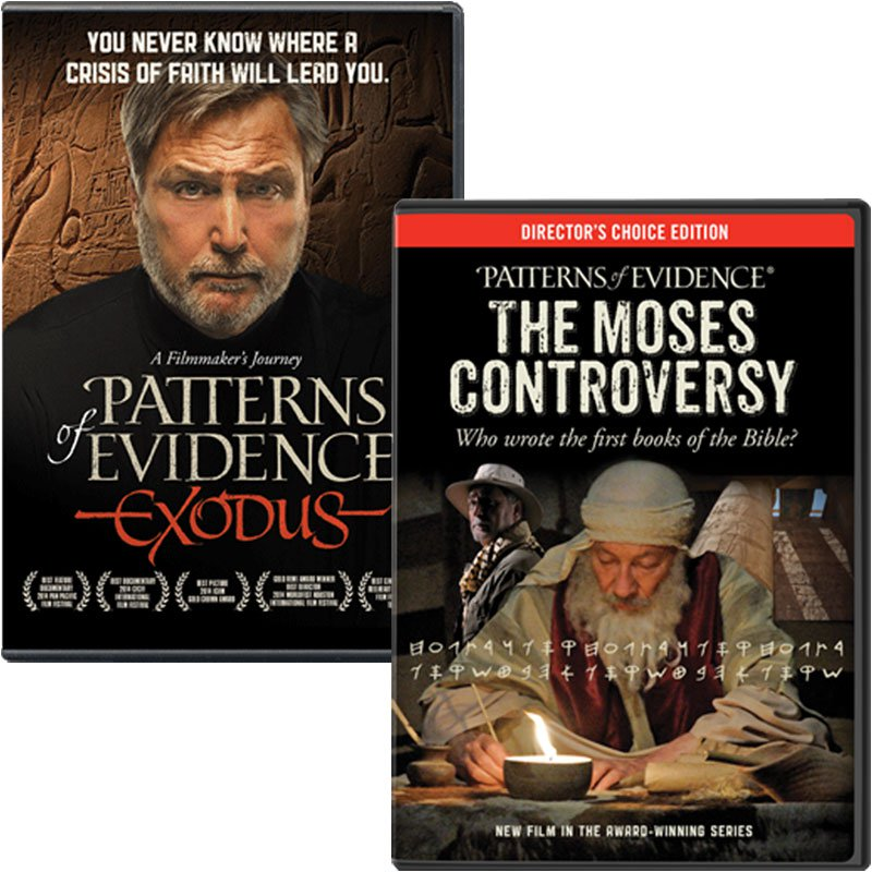 Patterns Of Evidence Exodus And The Moses Controversy Combo