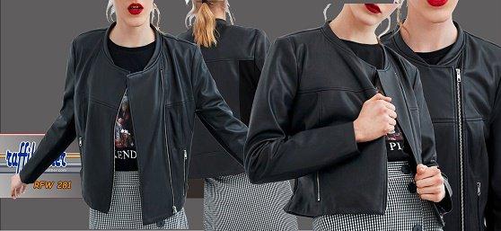 Pin oleh RaffiLeather Robby R di jaket kulit wanita