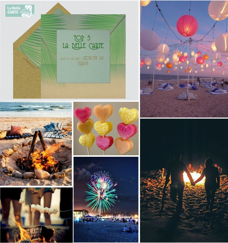 noche de san juan fiestas de verano fogatas en la playa