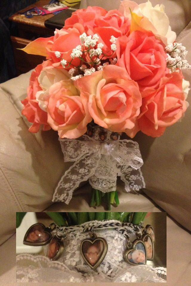 Bridal Bouquet Hobby Lobby Pre Made Coral Bouquet With Added